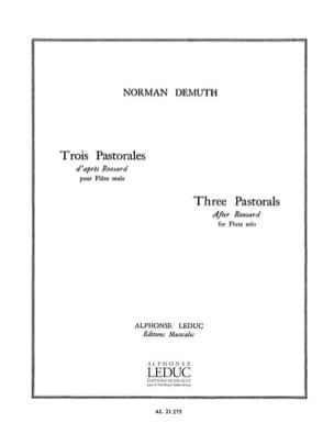 3 Pastorales Norman Demuth Partition Flûte traversière - laflutedepan