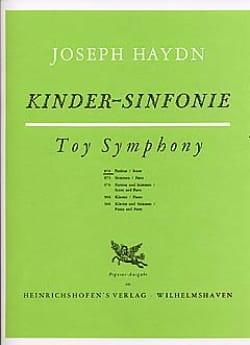 Kinder-Sinfonie - Partitur HAYDN Partition Grand format - laflutedepan