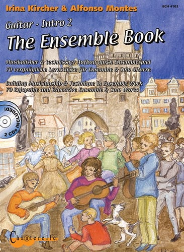 The Ensemble Book - Partition - Guitare - laflutedepan.com