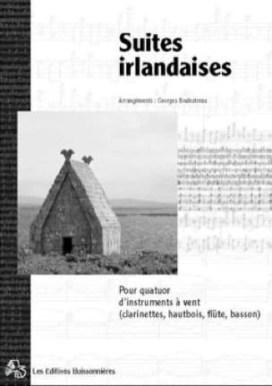 Suites Irlandaises - Partition - Clarinette - laflutedepan.com