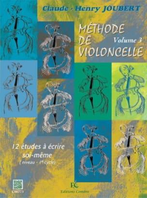 Méthode de violoncelle Volume 3 - laflutedepan.com