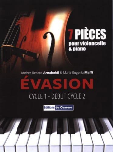 Evasion - Violoncelle et Piano - laflutedepan.com