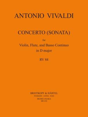 Concerto Sonata D major F. 12 N° 43 RV 84 VIVALDI laflutedepan