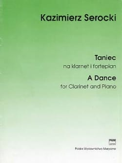 A Dance Kazimierz Serocki Partition Clarinette - laflutedepan