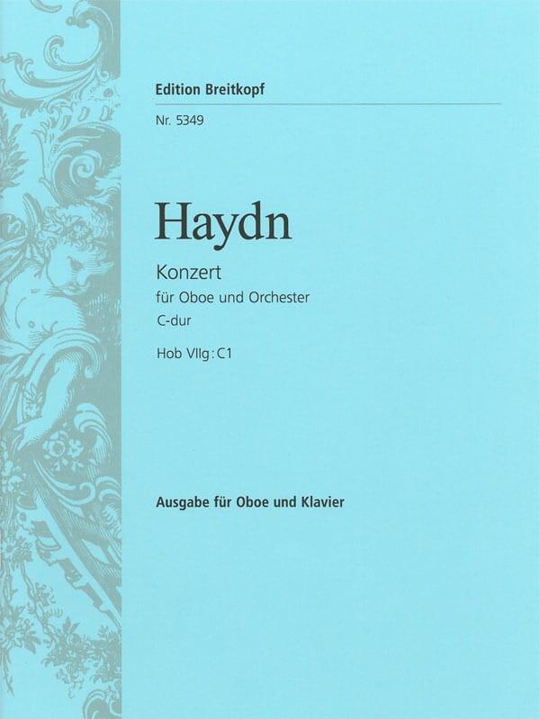 Oboenkonzert C-Dur Hob 7g: C1 - Partitur - HAYDN - laflutedepan.com