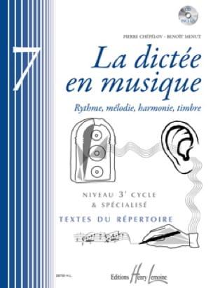 La Dictée en Musique Volume 7 - laflutedepan.com