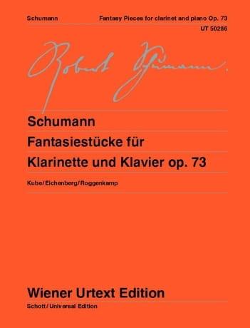 Fantasiestücke, op. 73 - Clarinette et piano - laflutedepan.com