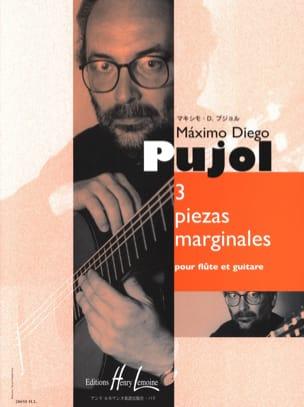 3 Piezas Marginales Maximo Diego Pujol Partition Duos - laflutedepan