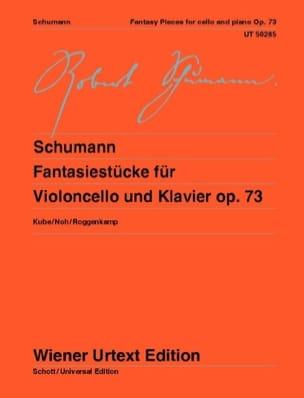 Fantasiestücke, op. 73 - Violoncelle et piano SCHUMANN laflutedepan