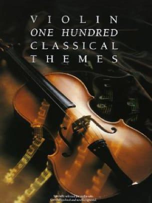 100 Classical Themes - Partition - Violon - laflutedepan.com