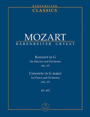 Klavierkonzert Nr. 17 G-Dur KV 453 - Partitur - laflutedepan.com
