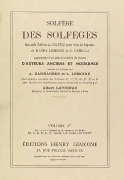 Volume 3b - S/A - Solfège des Solfèges Lavignac Partition laflutedepan