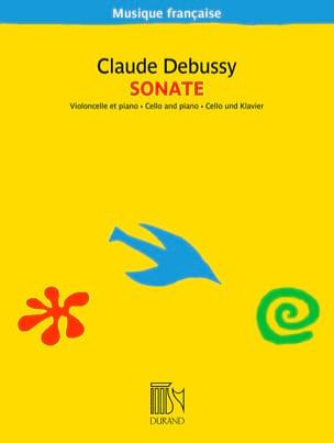 Sonate DEBUSSY Partition Violoncelle - laflutedepan
