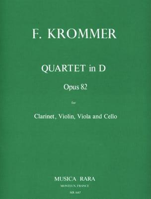 Quartet in D op. 82 - Clarinette-Violon-Alto-Violoncelle laflutedepan