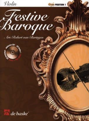 Festive Baroque Robert Van Beringen Partition Violon - laflutedepan