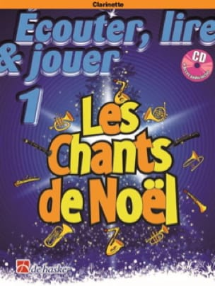 Les Chants de Noël 1 - Clarinette - Partition - laflutedepan.be