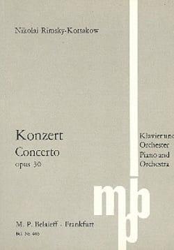 Nicolaï Rimsky-Korsakov - Konzert für Klavier op. 30 - Partitur - Partition - di-arezzo.co.uk