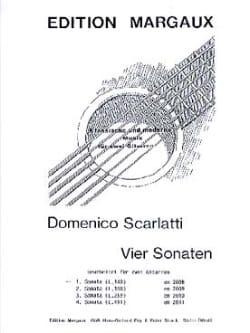 Sonata L. 140 -2 Gitarren SCARLATTI Partition Guitare - laflutedepan