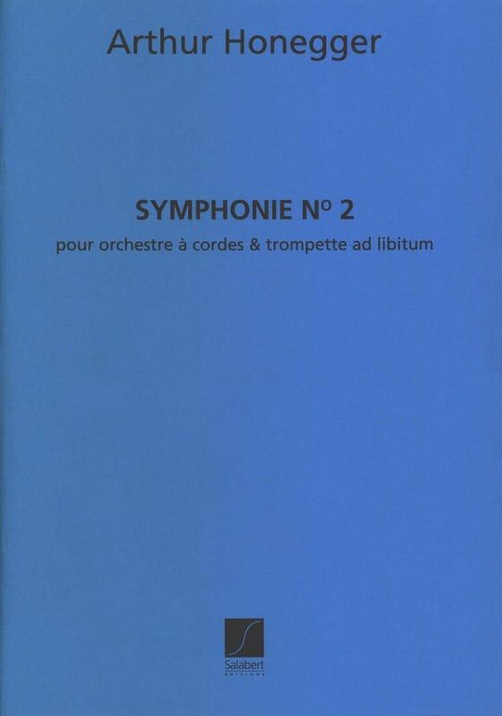 Symphonie n° 2 - Conducteur - HONEGGER - Partition - laflutedepan.com