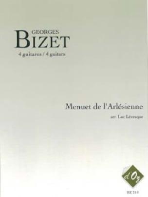 Menuet de l'Arlésienne - BIZET - Partition - laflutedepan.com