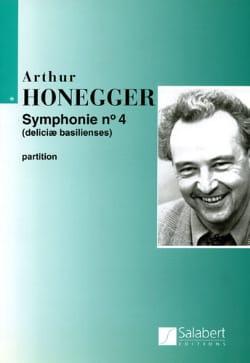 Symphonie n° 4 - Conducteur HONEGGER Partition laflutedepan