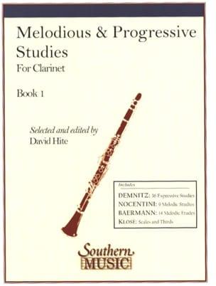 Melodious and progressive Studies - Volume 1 David Hite laflutedepan