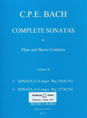 Complete sonatas Volume 2 -Flute Bc laflutedepan