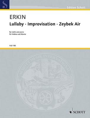 Lullaby / Improvisation / Zeybek Air Ulvi Cemal Erkin laflutedepan