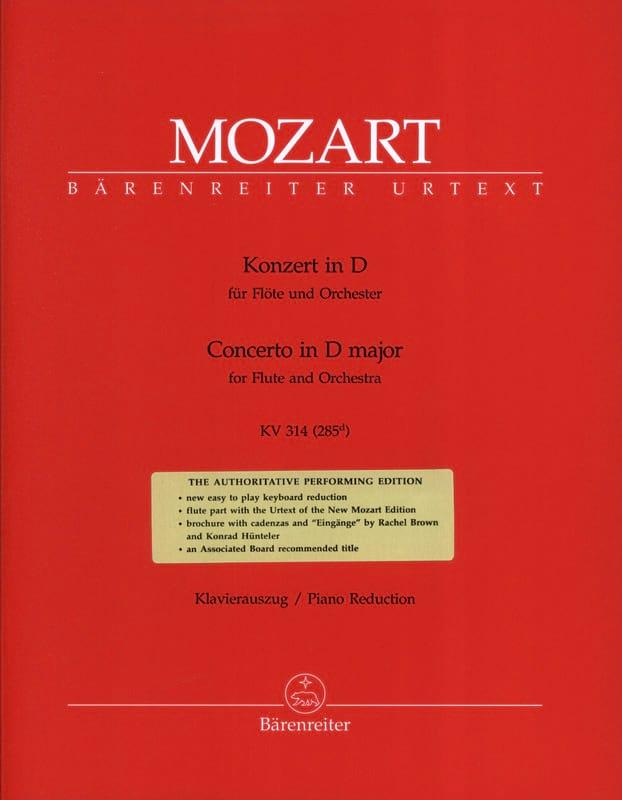 Concerto pour flûte n° 2 en ré majeur KV 314 - laflutedepan.com