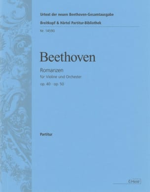 Romanzen für Violine op. 40 und op. 50 BEETHOVEN laflutedepan