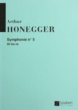 Symphonie n° 5 - Conducteur HONEGGER Partition laflutedepan