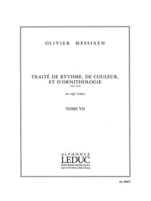 Tome 7 - Traité de Rythme, de Couleur et D'ornithologie laflutedepan