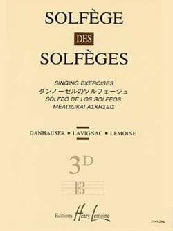 Volume 3D - S/A - Solfège des Solfèges Lavignac Partition laflutedepan