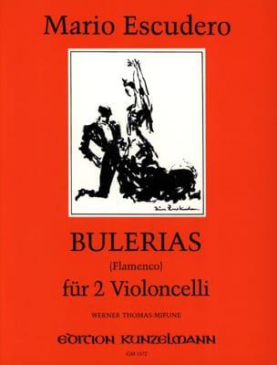 Bulerias Flamenco Mario Escudero Partition Violoncelle - laflutedepan