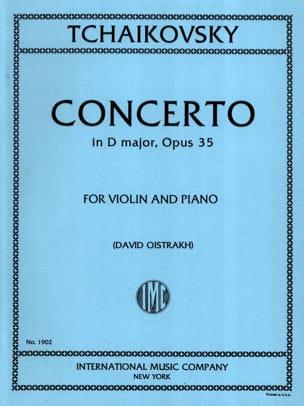 Concerto Violon ré majeur op. 35 Oistrakh TCHAIKOVSKY laflutedepan