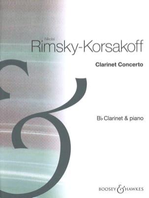 Concerto Pour Clarinette RIMSKY-KORSAKOV Partition laflutedepan