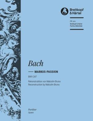 Johann Sebastian Bach - Passion according to St-Marc, BWV 247 - Partition - di-arezzo.com