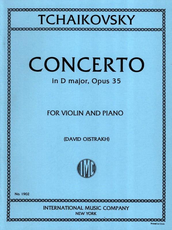 Concerto Violon ré majeur op. 35 Oistrakh - laflutedepan.com
