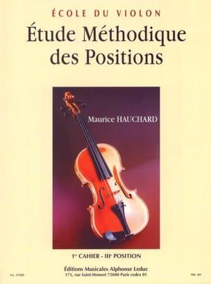 Maurice Hauchard - Estudio de Posiciones Volumen 1 - Partition - di-arezzo.es