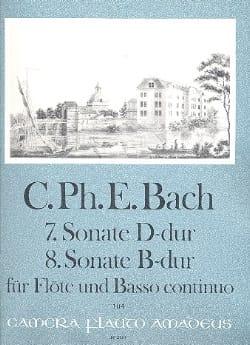 Sonaten Nr. 7 D-Dur u. Nr. 8 B-Dur -Flöte u. Bc laflutedepan