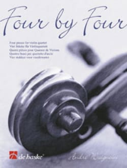 Four by Four André Waignein Partition Violon - laflutedepan