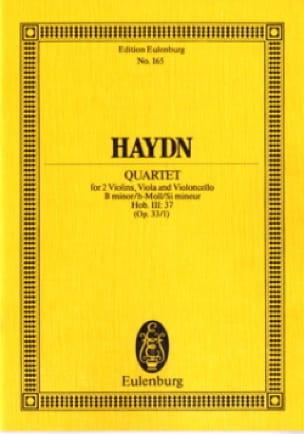 Streich-Quartett h-moll op. 33 n° 1 - HAYDN - laflutedepan.com
