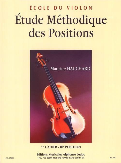 Etude des Positions Volume 1 - Maurice Hauchard - laflutedepan.com