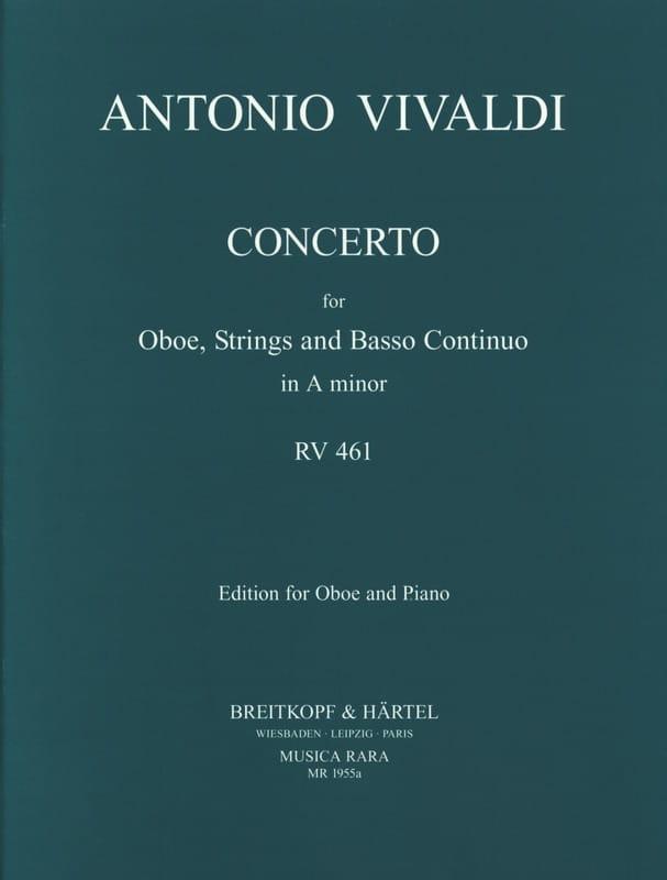 Concerto in A minor RV 461 F. 7 n° 5 -Oboe piano - laflutedepan.com