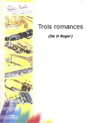 3 Romances - Denise Roger - Partition - Clarinette - laflutedepan.com