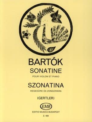 Sonatine - Violine Klavier BARTOK Partition Violon - laflutedepan