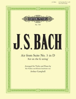 Air from Suite n° 3 in D, Air on the G string BACH laflutedepan