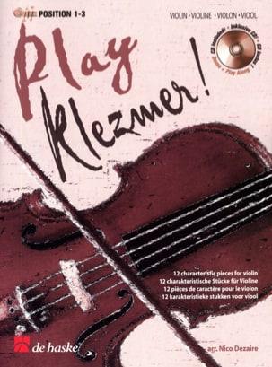 Play Klezmer ! Violon Nico Dezaire Partition Violon - laflutedepan