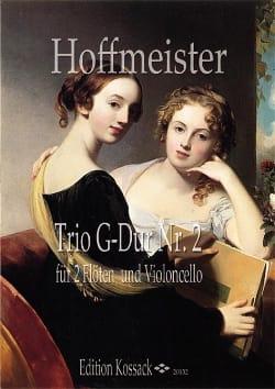 Trio n° 2 en sol majeur HOFFMEISTER Partition Trios - laflutedepan