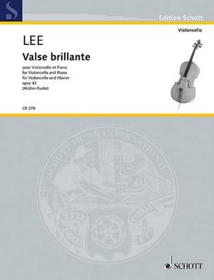 Valse Brillante, opus 42 Sebastian Lee Partition laflutedepan